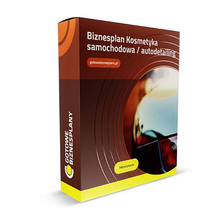 Gotowy, przykładowy biznesplan: KOSMETYKA SAMOCHODOWA  /  AUTODETAILING