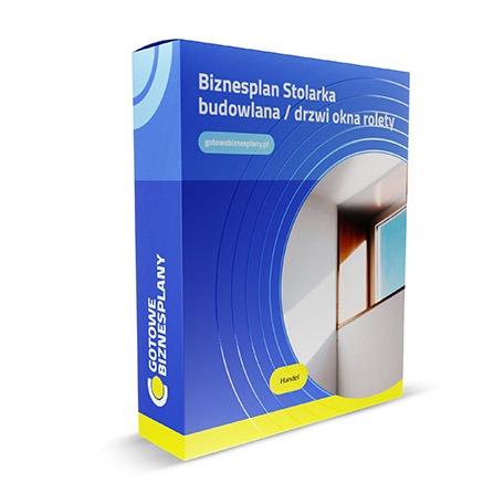 Biznesplan: Stolarka budowlana / drzwi okna rolety