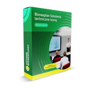 Biznesplan Szkolenia techniczne/ kursy