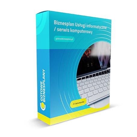 Biznesplan: Usługi informatyczne / serwis komputerowy
