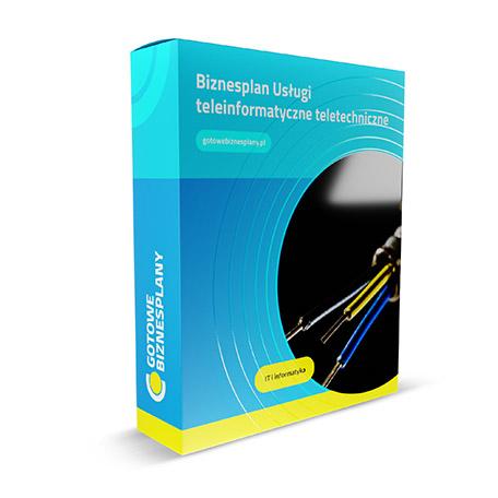 Gotowy, przykładowy biznesplan: USŁUGI TELEINFORMATYCZNE /  TELETECHNICZNE