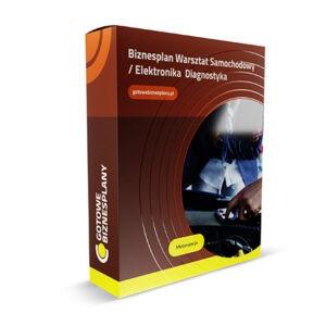 Biznesplan Warsztat Samochodowy / Elektronika / Diagnostyka
